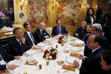 Dining in Paris