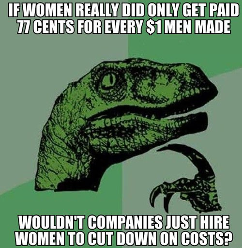 Image result for the wage gap myth